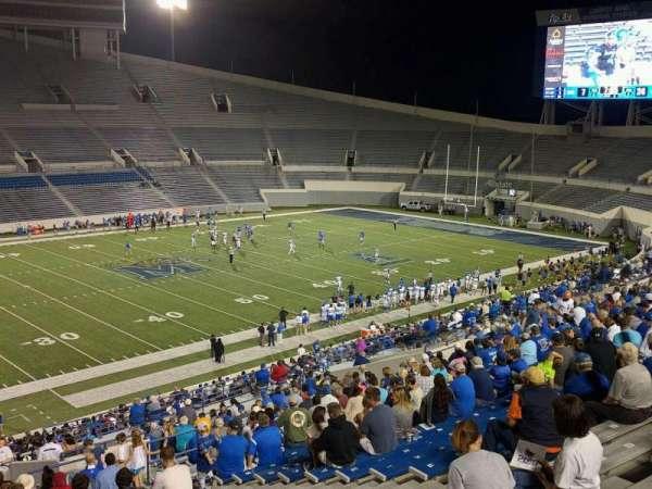 Liberty Bowl Memorial Stadium, secção: 106, fila: 50, lugar: 10