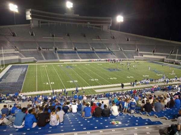 Liberty Bowl Memorial Stadium, secção: 107, fila: 50, lugar: 10