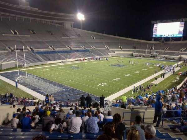 Liberty Bowl Memorial Stadium, secção: 110, fila: 50, lugar: 10