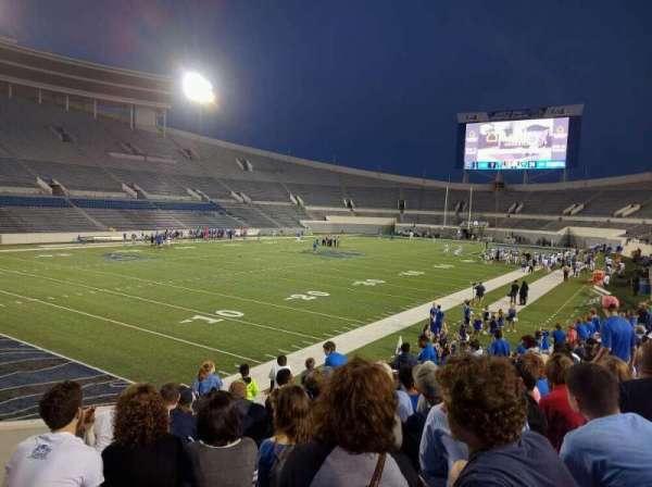 Liberty Bowl Memorial Stadium, secção: 111, fila: 50, lugar: 10