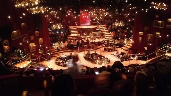 Imperial Theatre, secção: Rear Mezzanine 3, fila: E, lugar: 14
