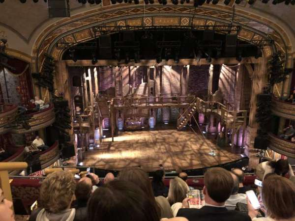 Richard Rodgers Theatre, secção: Front Mezzanine R, fila: F, lugar: 114