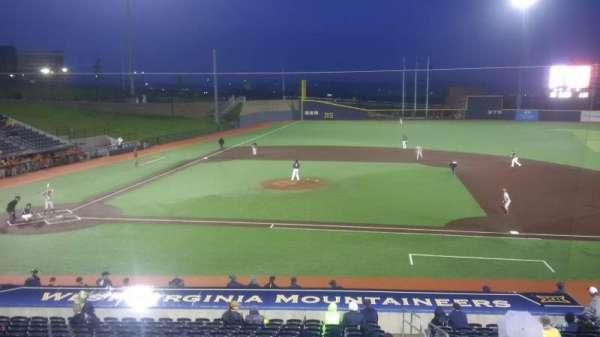 Monongalia County Ballpark, secção: 108, fila: R, lugar: 24