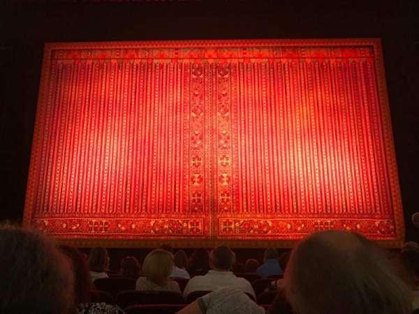 Citizens Bank Opera House, secção: Orchestra C, fila: D, lugar: 106
