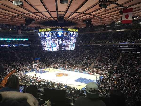 Madison Square Garden, secção: 227, fila: 3, lugar: 8