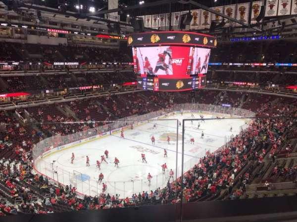 United Center, secção: 305, fila: 1, lugar: 18