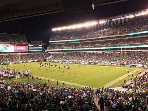 Lincoln Financial Field, secção: LS72, fila: 3, lugar: 5