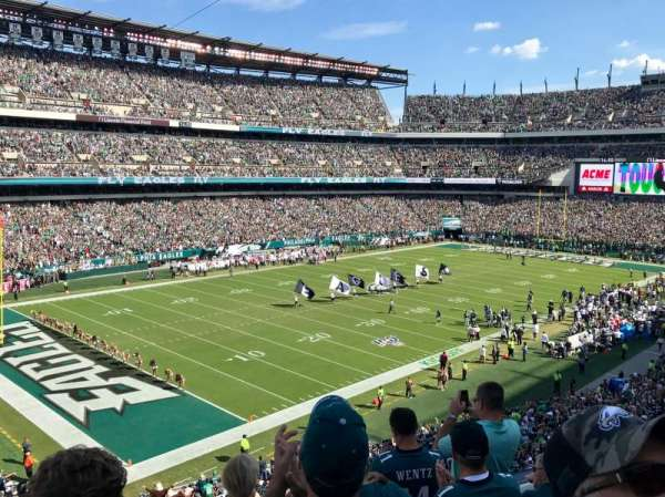 Lincoln Financial Field, secção: C35, fila: 5, lugar: 16