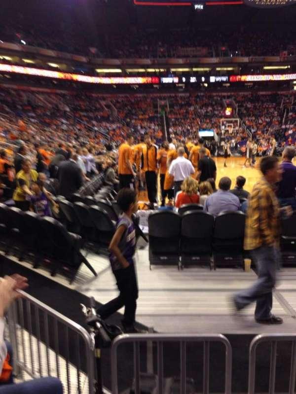 PHX Arena, secção: 121, fila: 3, lugar: 3