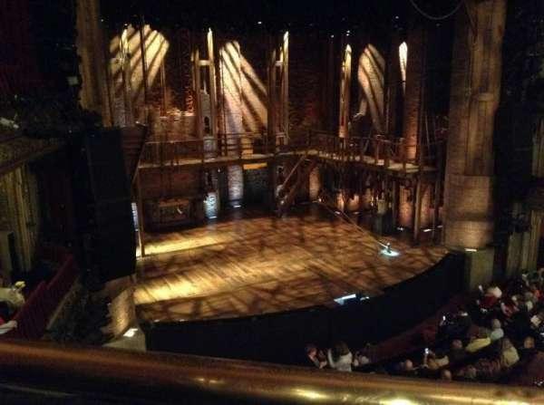 CIBC Theatre, secção: Mezzanine L, fila: A, lugar: 5