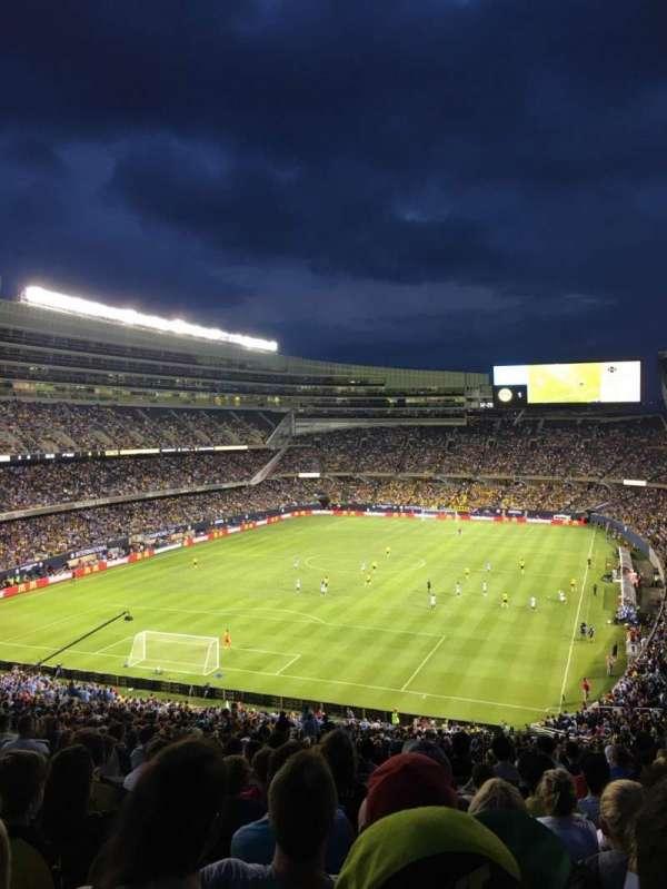Soldier Field, secção: 349, fila: 9, lugar: 10