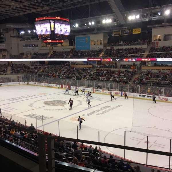 Indiana Farmers Coliseum, secção: 310, fila: B, lugar: 5
