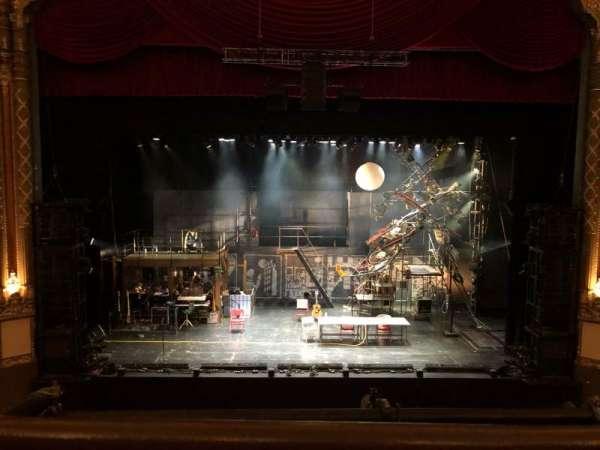 Golden Gate Theatre, secção: Loge LC, fila: A, lugar: 101