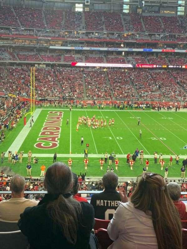 State Farm Stadium, secção: 242, fila: 6, lugar: 10