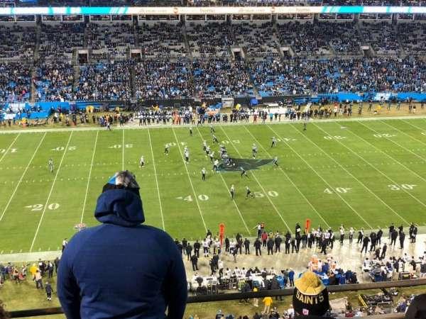 Bank of America Stadium, secção: 516, fila: 1A, lugar: 11-12
