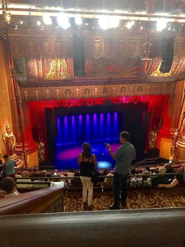 Beacon Theatre, secção: Upper Balcony 1, fila: J, lugar: 15