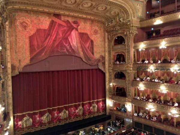Teatro Colón, secção: Cazuela Lateral, fila: 1, lugar: 39