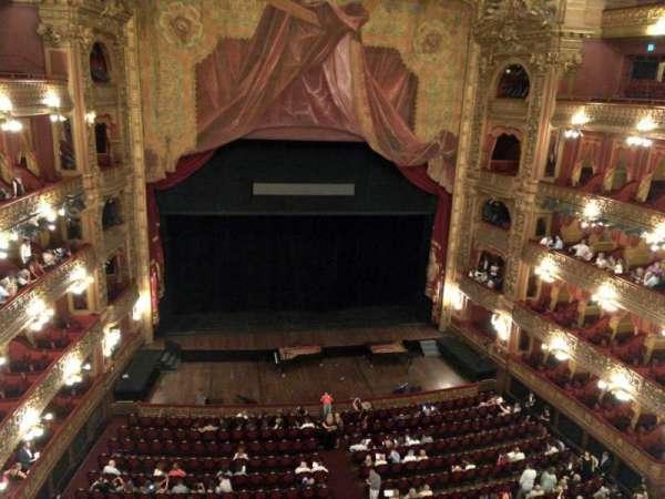 Teatro Colón, secção: Tertulia Centro, fila: 1, lugar: 101