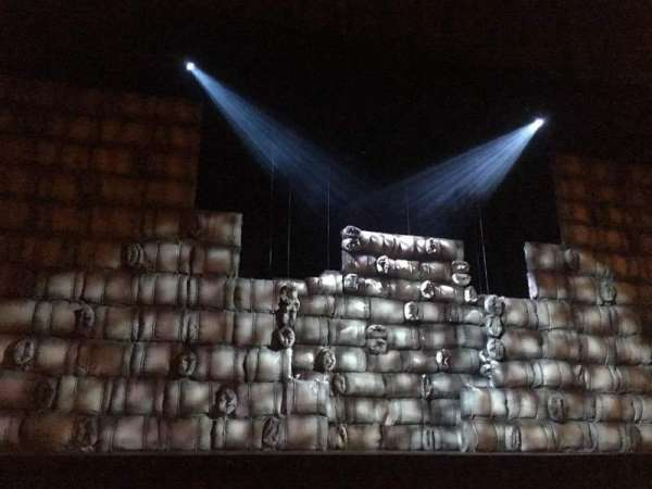 Teatro San Martín, secção: Main, fila: 3, lugar: 11