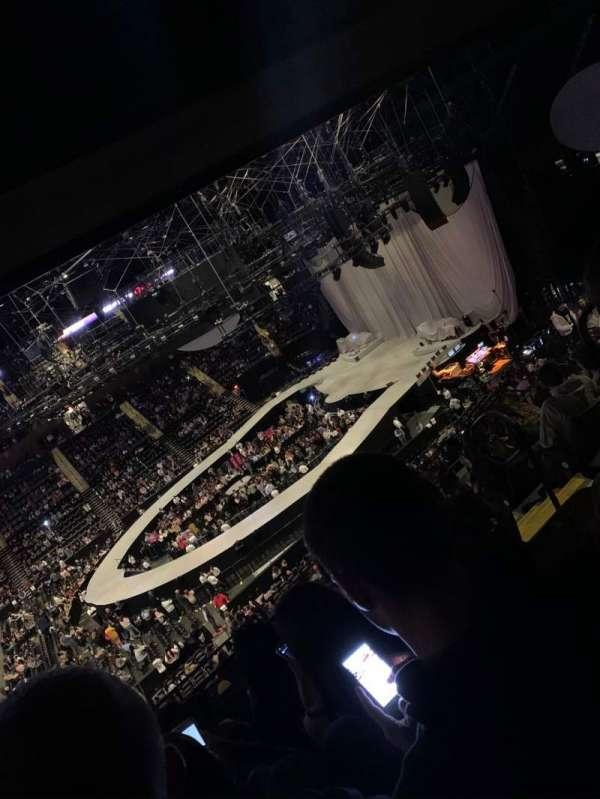Nassau Veterans Memorial Coliseum, secção: 203, fila: 12, lugar: 4