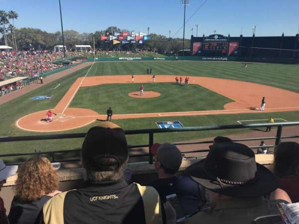 Champion Stadium, secção: 210, fila: C, lugar: 9