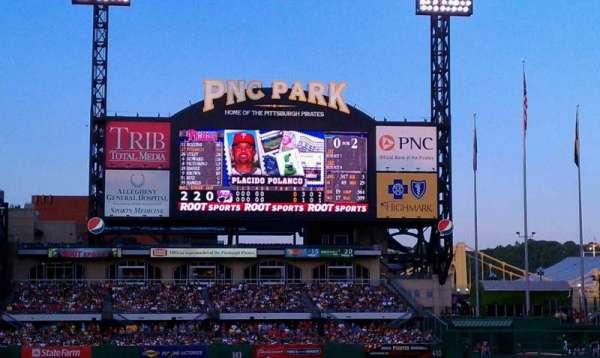 PNC Park, secção: 112, fila: E