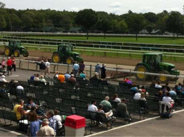 Saratoga Race Course, secção: Grandstand