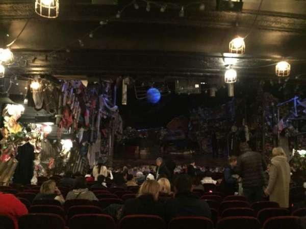 Neil Simon Theatre, secção: Orchestra, fila: T, lugar: 15
