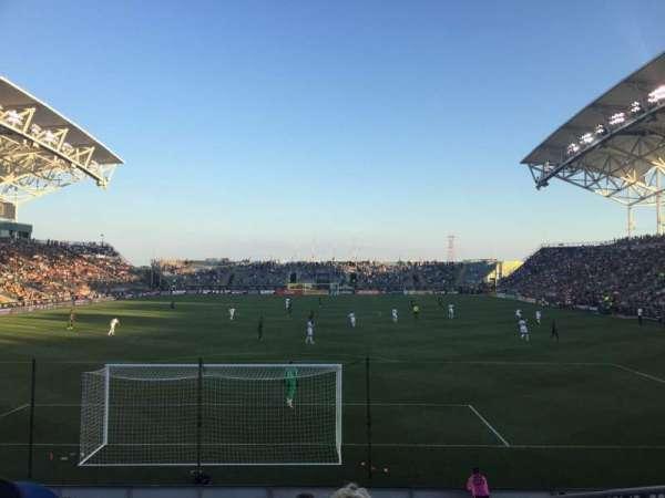 Talen Energy Stadium, secção: 117, fila: M, lugar: 02
