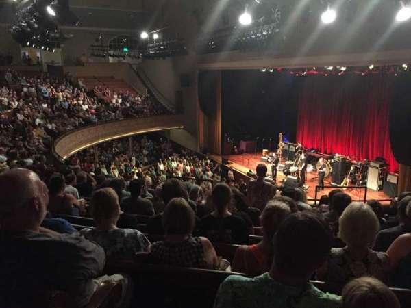 Ryman Auditorium, secção: BAL-10, fila: L, lugar: 8