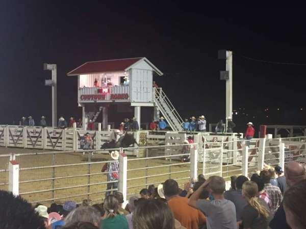 Cowtown Rodeo, secção: General Admission, fila: 8 , lugar: South Bleachers