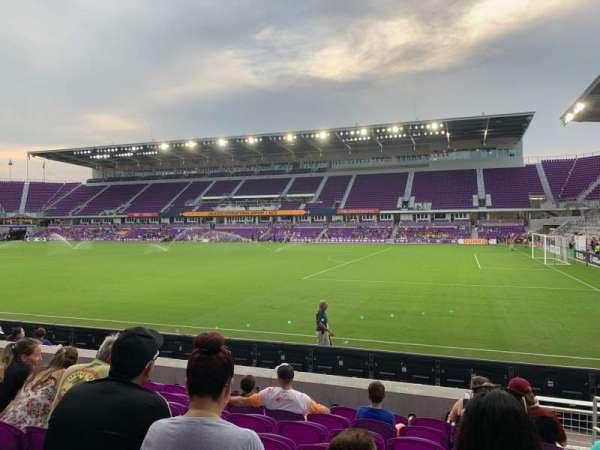 Exploria Stadium, secção: 31, fila: K, lugar: 2