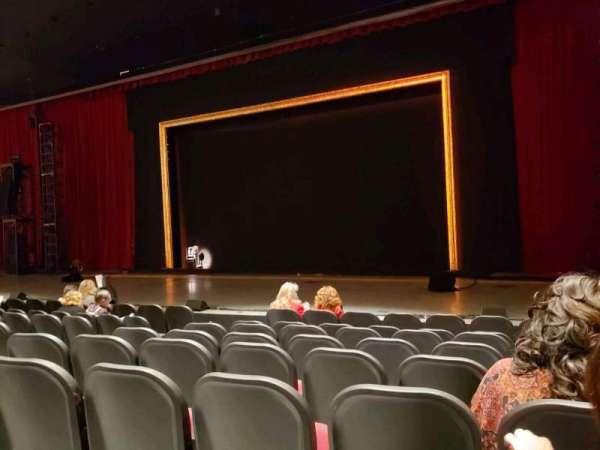 Rabobank Theater, secção: C, fila: H, lugar: 8