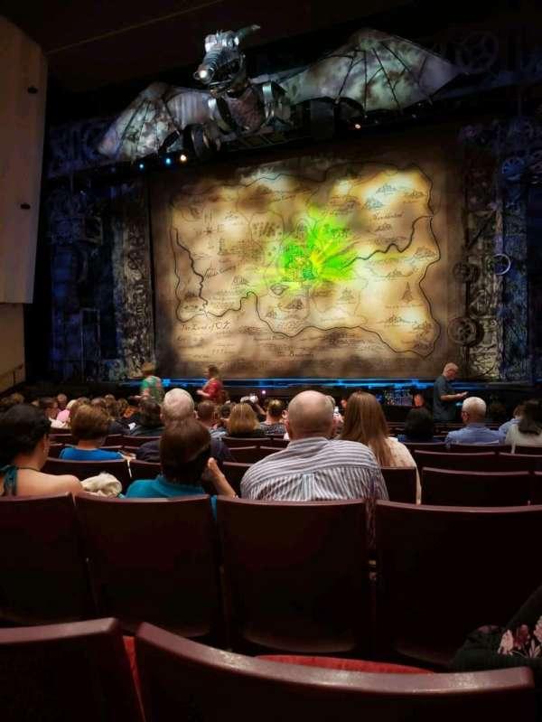 William Saroyan Theatre, secção: orchestra, fila: k, lugar: 15
