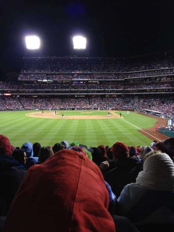 Citizens Bank Park, secção: 142, fila: 23, lugar: 10