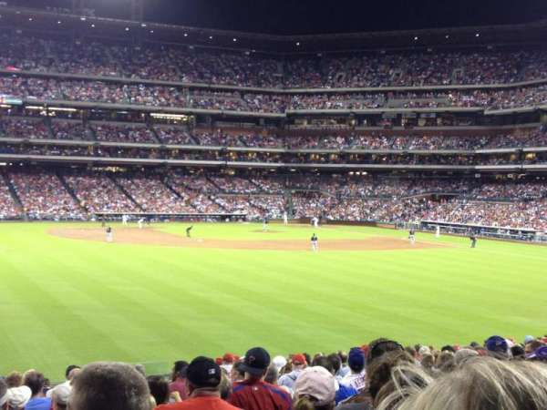 Citizens Bank Park, secção: 146, fila: 18, lugar: 7