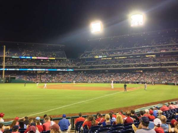 Citizens Bank Park, secção: 138, fila: 12, lugar: 2
