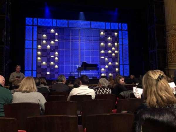 Academy of Music, secção: Parquet Left, fila: C, lugar: 112