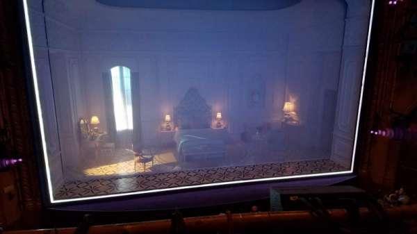 John Golden Theatre, secção: Front Mezzanine, fila: A, lugar: 107