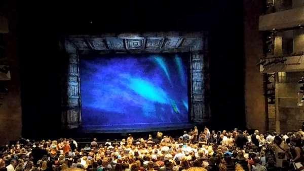 The Buell Theatre, secção: Orchestra-C, fila: C-UU, lugar: 19