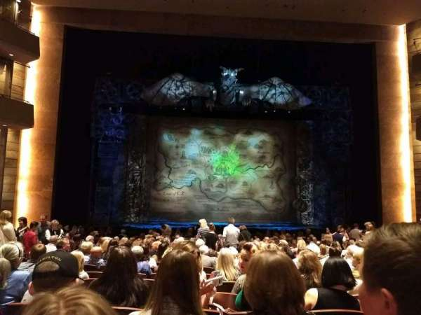The Buell Theatre, secção: Orchestra C, fila: S, lugar: 20