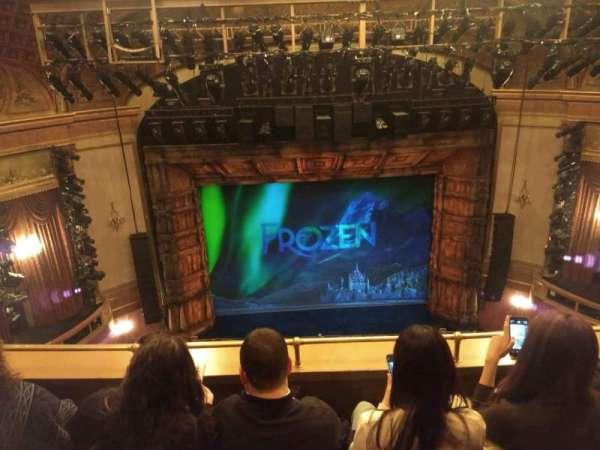 St. James Theatre, secção: Balcony C, fila: C, lugar: 111