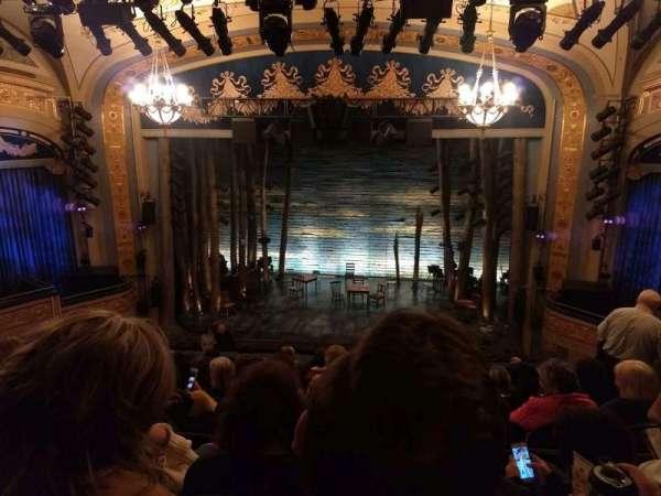 Gerald Schoenfeld Theatre, secção: Mezzanine C, fila: J, lugar: 110