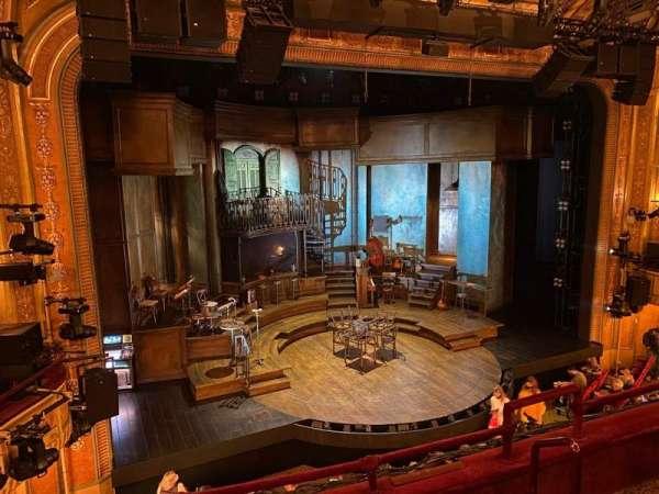Walter Kerr Theatre, secção: Mezzanine L, fila: D, lugar: 9