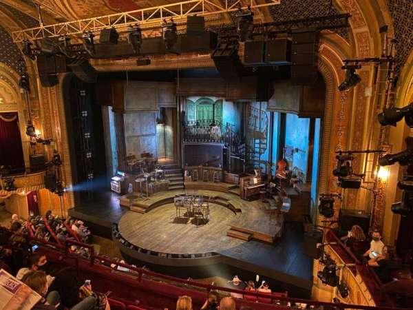 Walter Kerr Theatre, secção: Mezzanine R, fila: F, lugar: 18