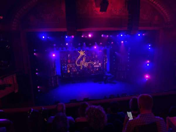 Booth Theatre, secção: Mezzanine C, fila: D, lugar: 101