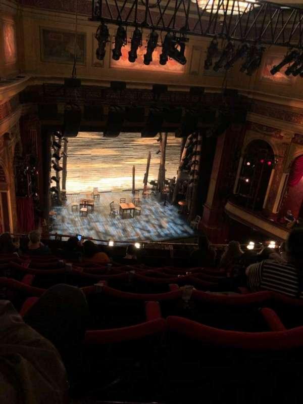 Phoenix Theatre, secção: Grand  Circle, fila: H, lugar: 27
