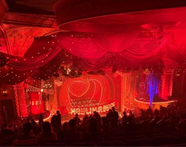 Al Hirschfeld Theatre, secção: Mezzanine L, fila: T, lugar: 5