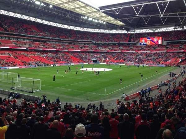 Wembley Stadium, secção: 129, fila: 31, lugar: 201