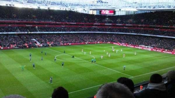 Emirates Stadium, secção: 115, fila: 3